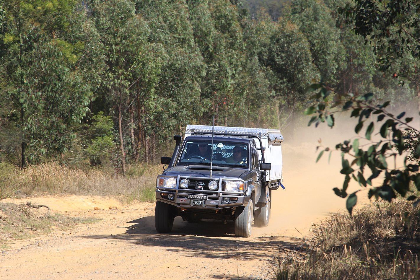 2011 Toyota 79 Series Land Cruiser GX custom dirt roads