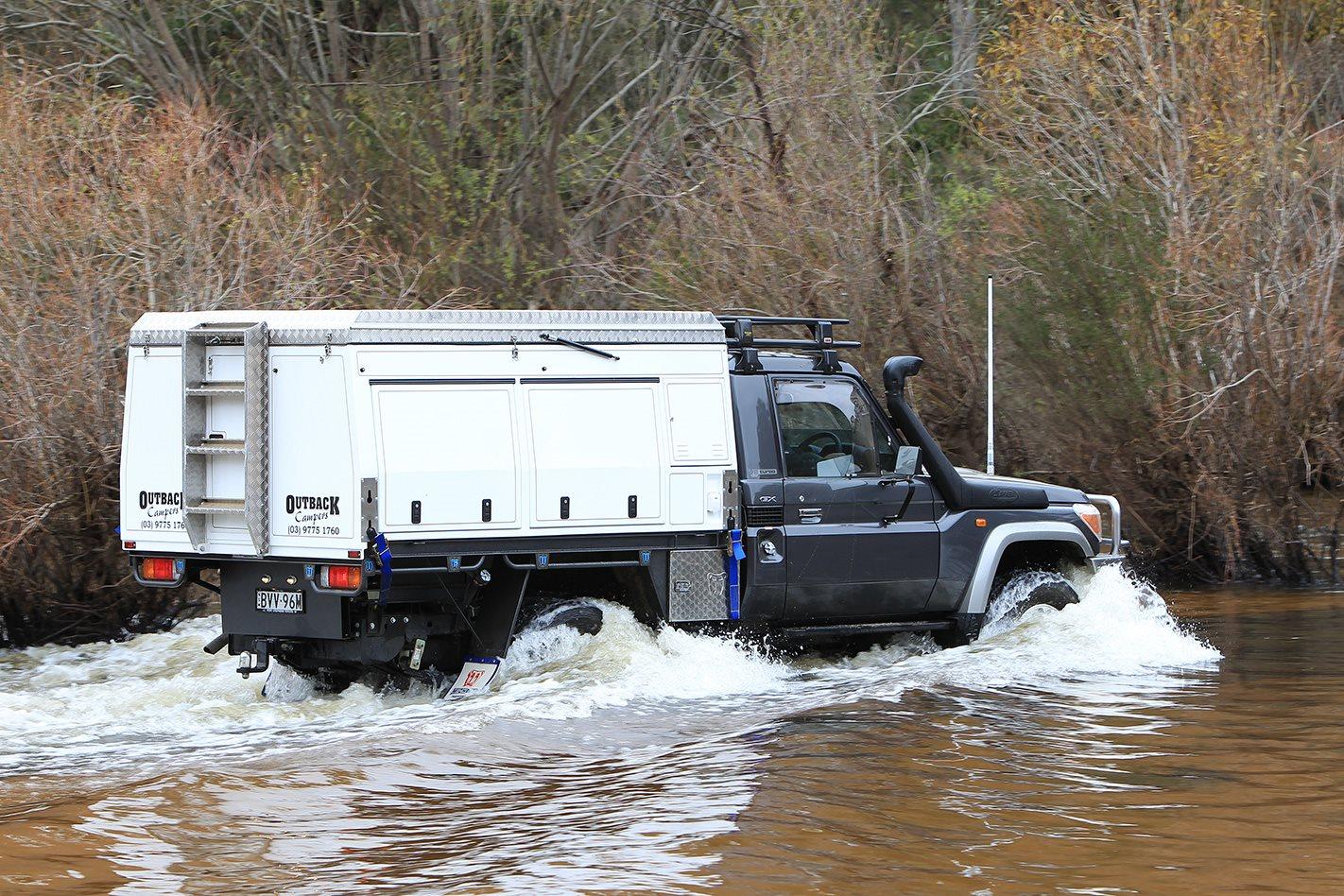 2011 Toyota 79 Series Land Cruiser GX custom water