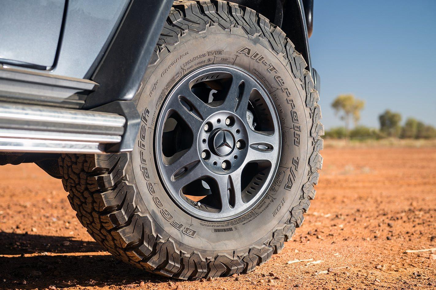 2018 Mercedes Benz G300 CDI Professional wagon wheel