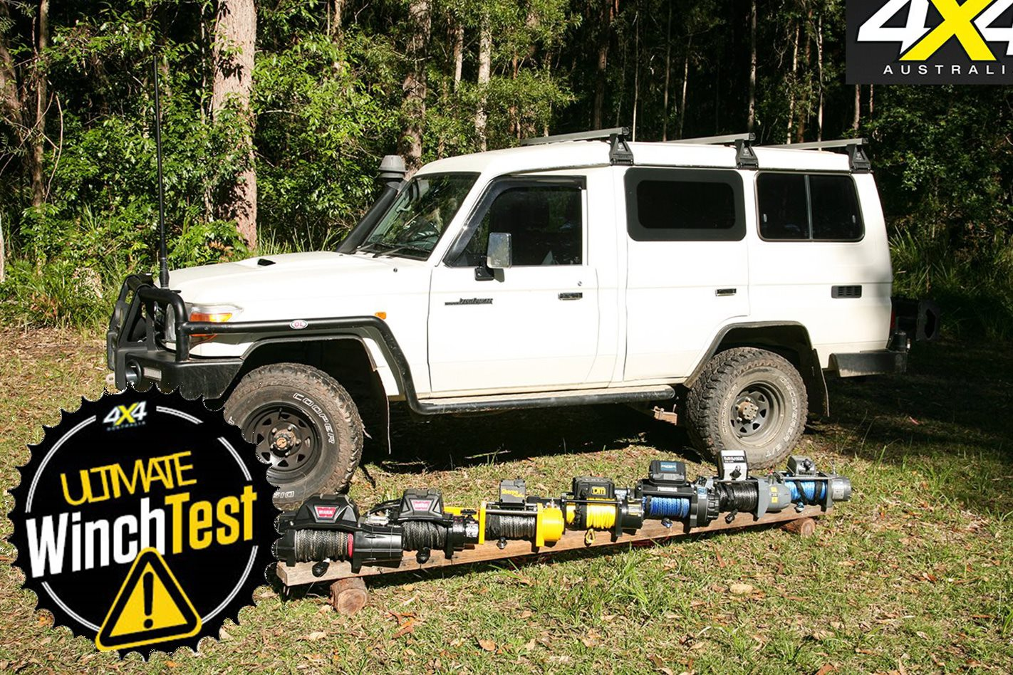 12-volt winch test: Results