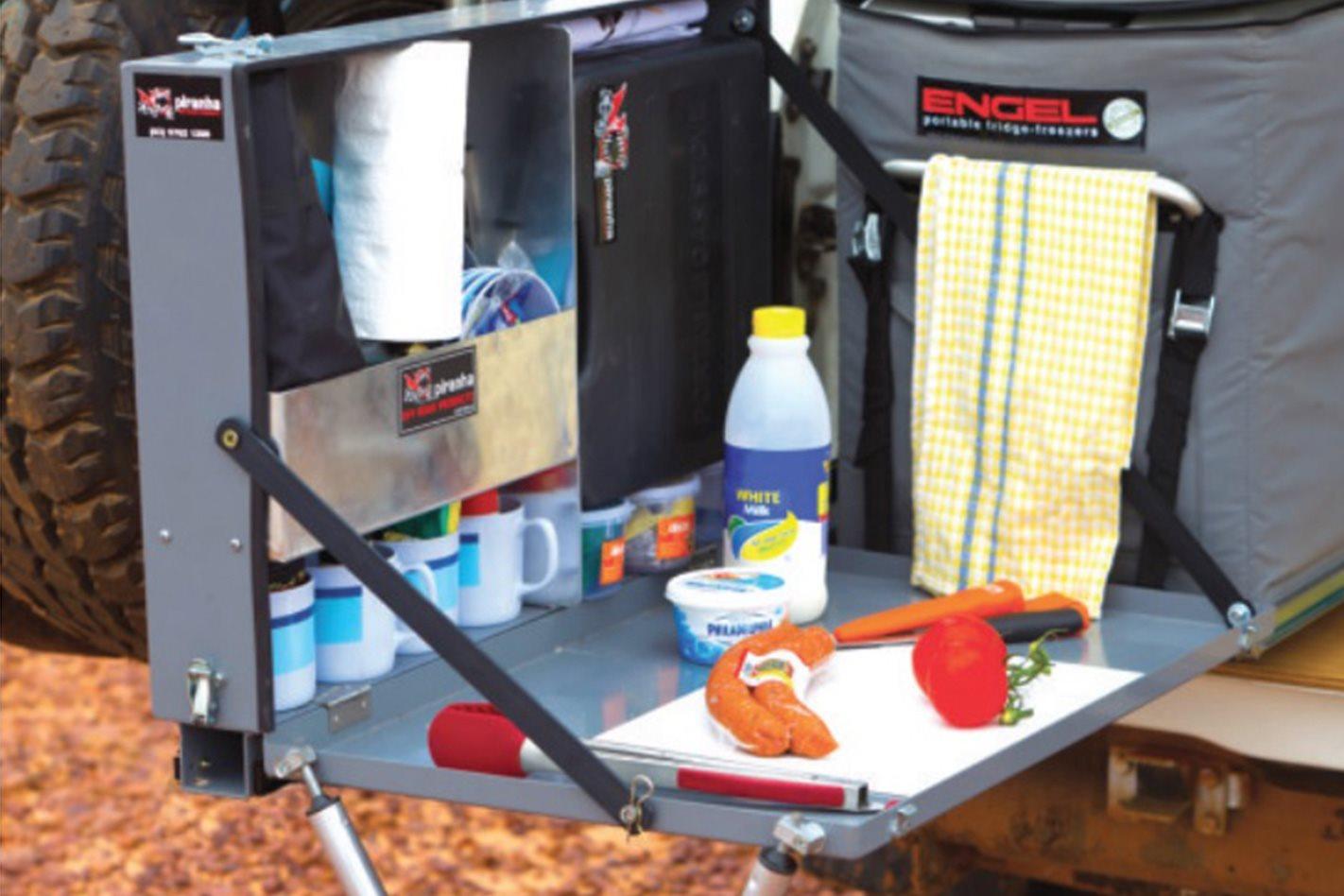 Piranha 30 Second 4X4 Kitchen