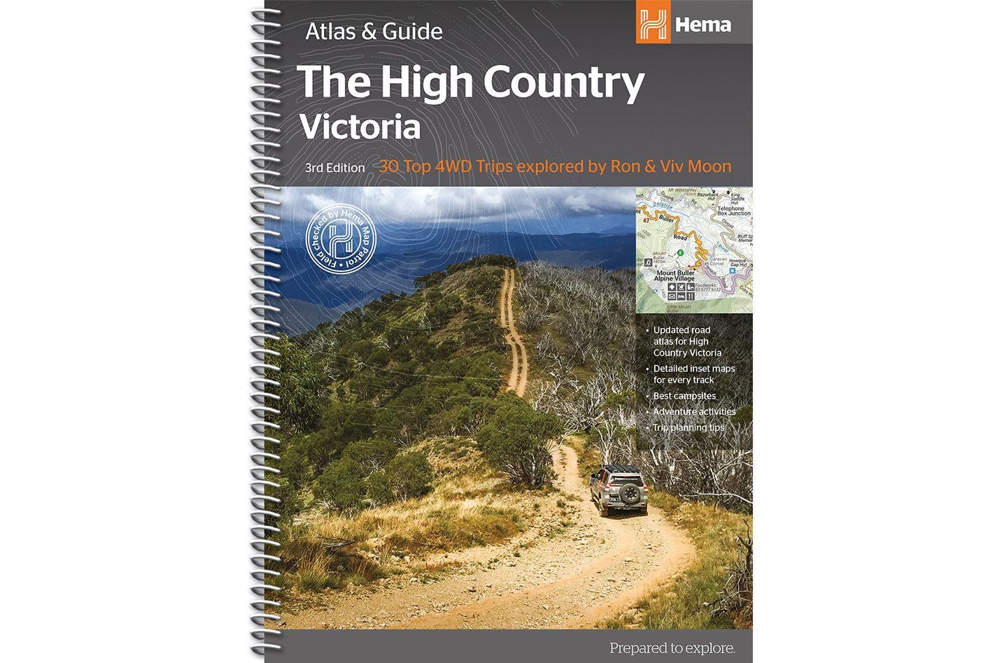 HEMA MAPS' THE HIGH COUNTRY VICTORIA ATLAS & GUIDE
