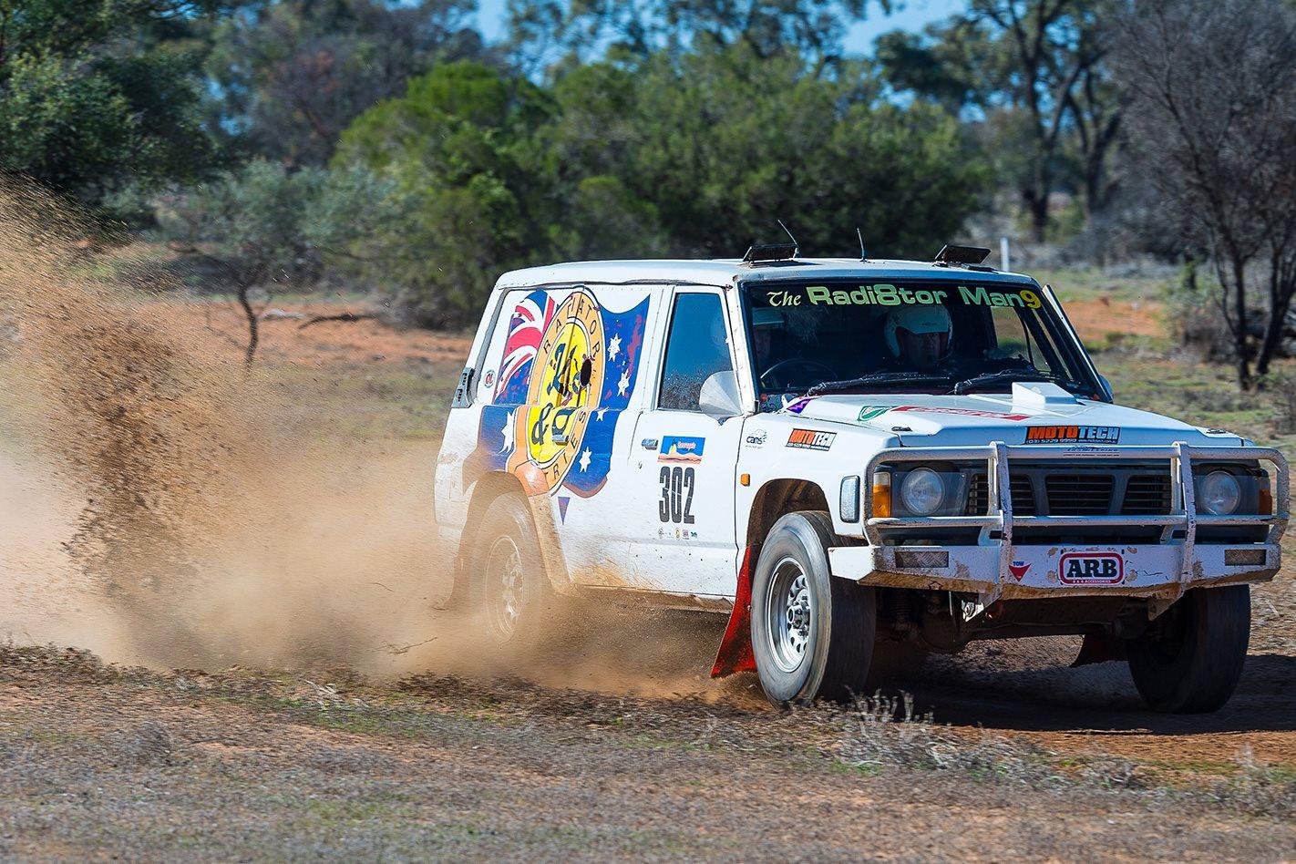 2000 Safari winner Nissan Patrol