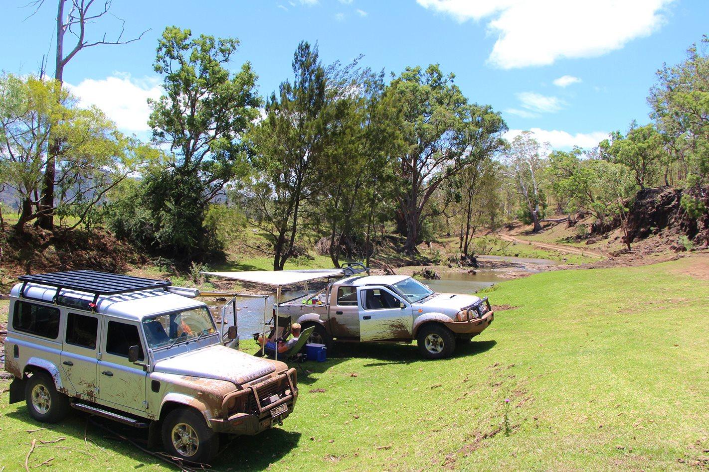 4X4s at Janowen Hills Camping & 4WD Park QLD