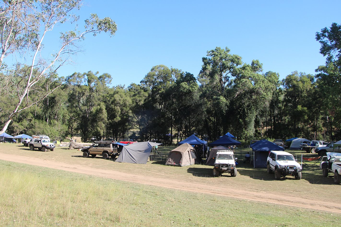 Land Cruiser Mountain Park QLD campsite