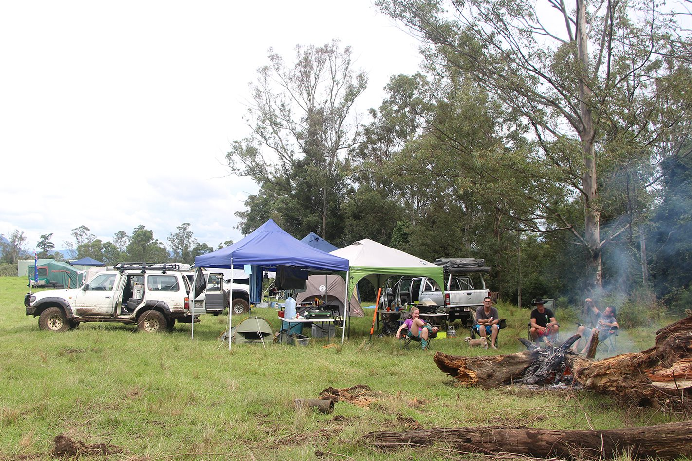 Levuka Rainforest Recreation Park campsite