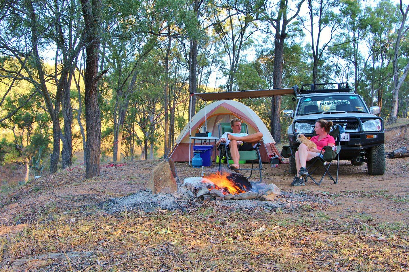 The Springs 4X4 Adventure Park campsite