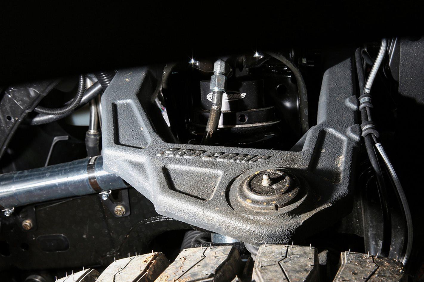 Custom Toyota Tundra Pro Comps' bypass system
