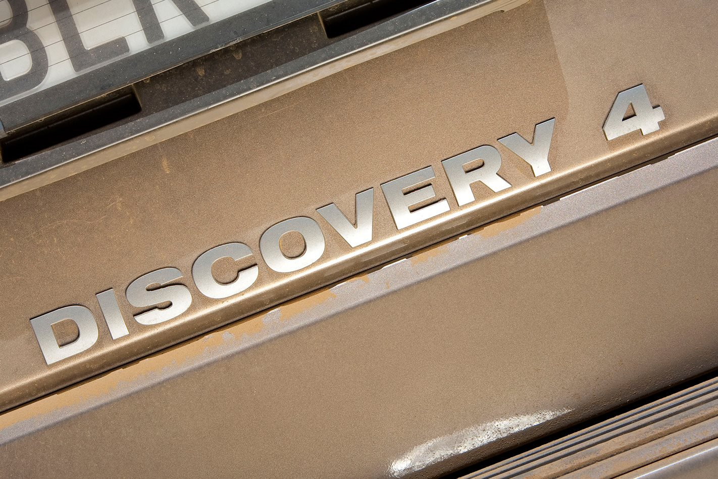 Land Rover Discoverery 4 badge