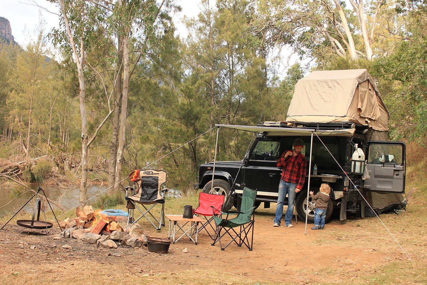 Wombeyan Creek camping set up.jpg
