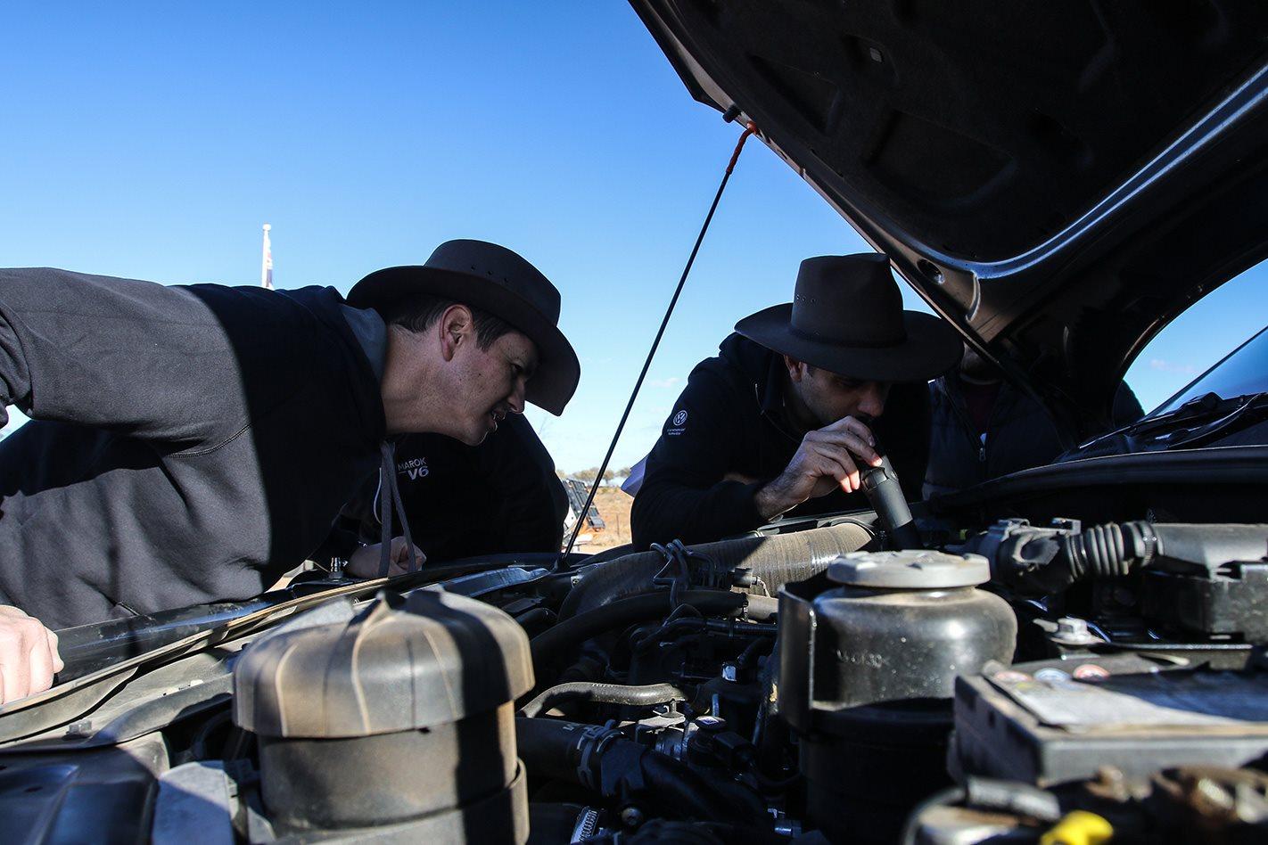 Engine check Volkswagen Amaroks.jpg