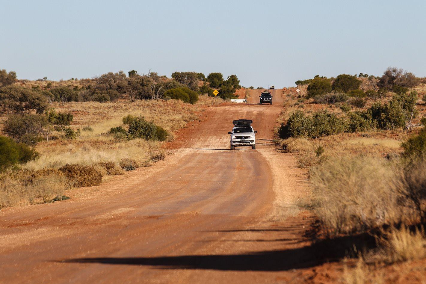 Volkswagen Amaroks dirt road.jpg