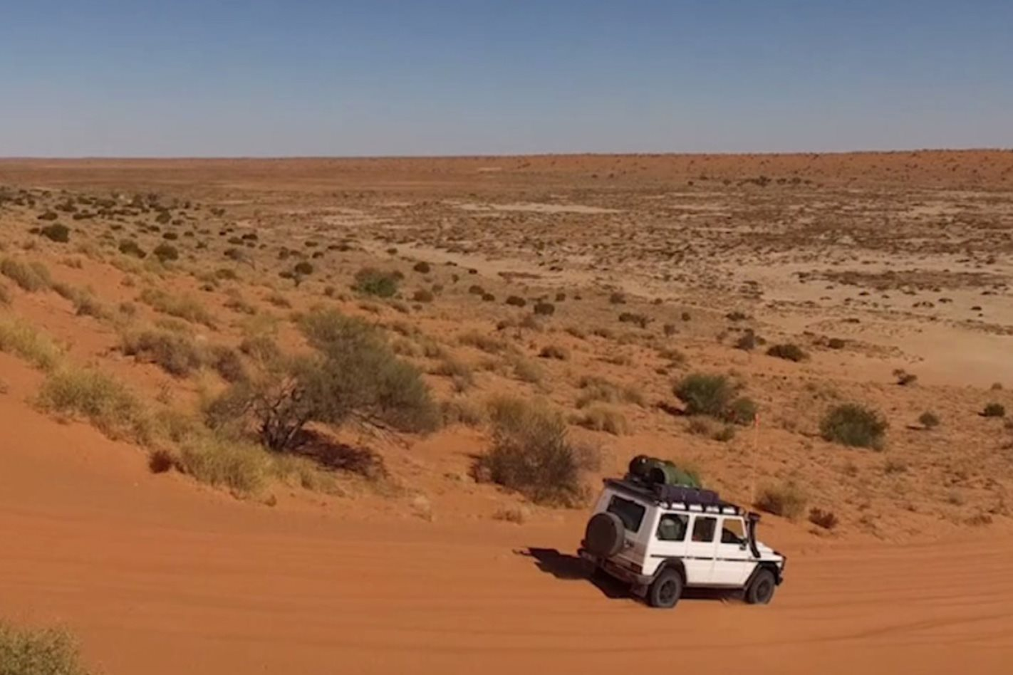Simpson Desert Nt Video
