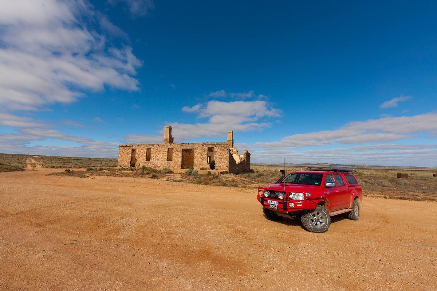 Waukaringa Ruins, Yunta to Hawker