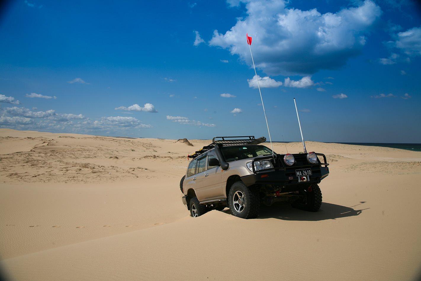 Toyota Land Cruiser 100 Series custom beach