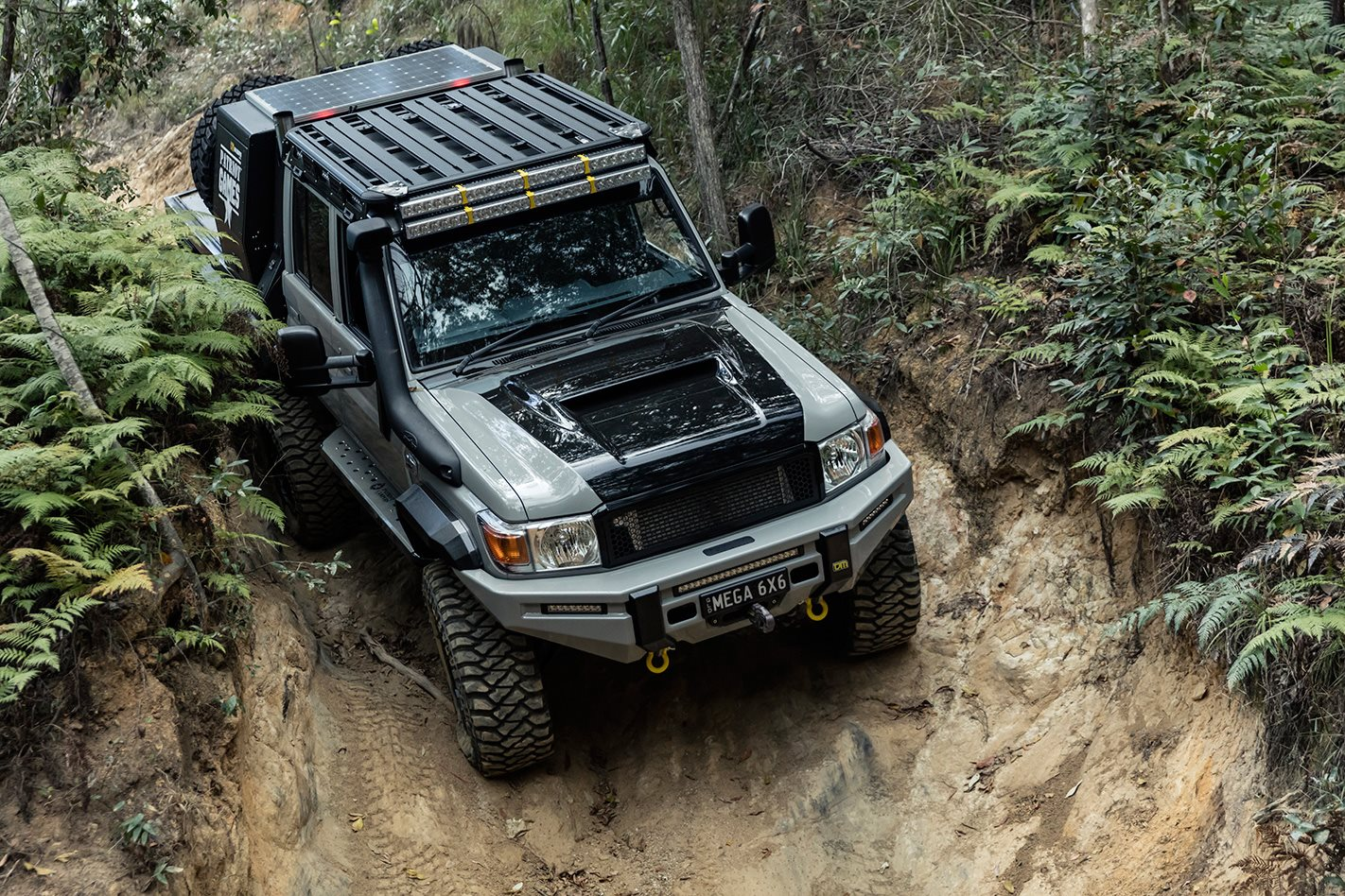 Patriot Campers Lc79 6x6 Review Toyota Mega Cruiser In Usa 4wd Tracks