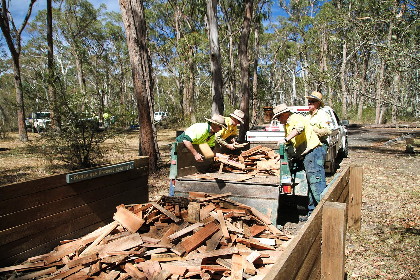 Oxley Wild Rivers National Park NSW chopping wood.jpg
