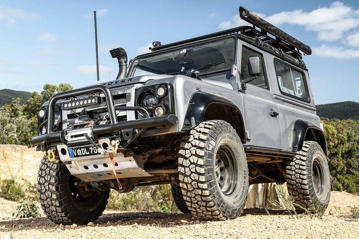 land rover defender 90 2017 custom 4x4oty contender 4x4 australia. Black Bedroom Furniture Sets. Home Design Ideas