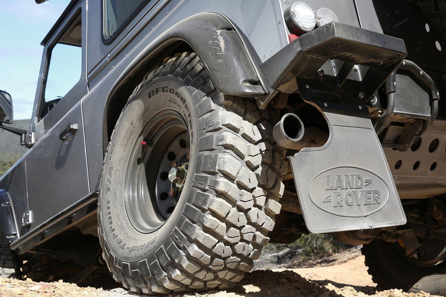 BFG Mud Terrain KM2 LT315/75R16 tyres
