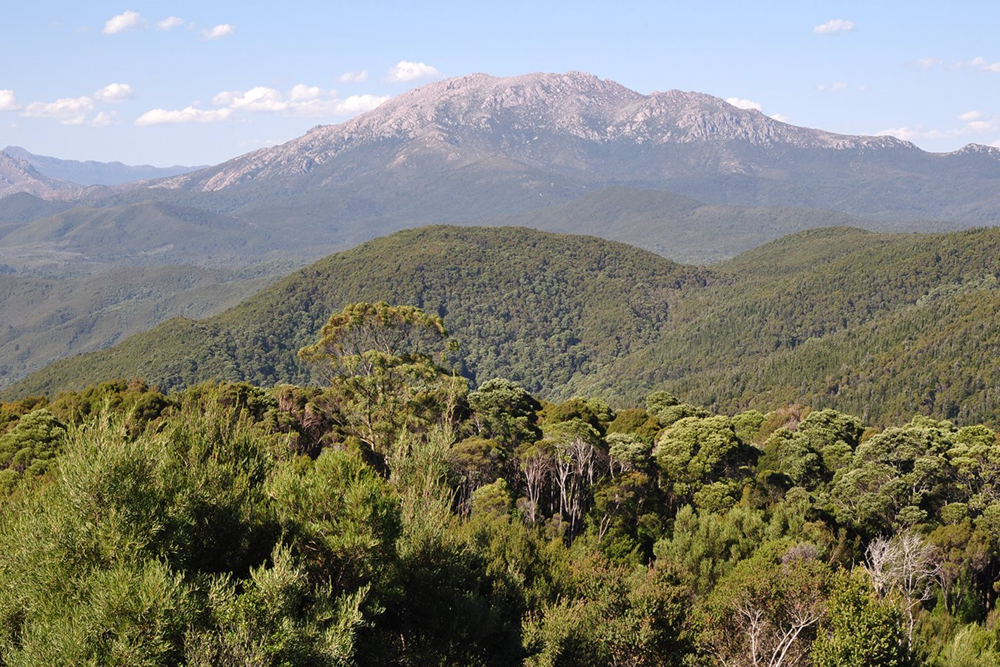 Circular Head mountain, Tasmania