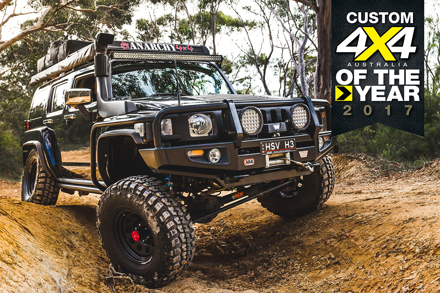 HSV-powered H3 Hummer: 2017 Custom 4x4OTY contender