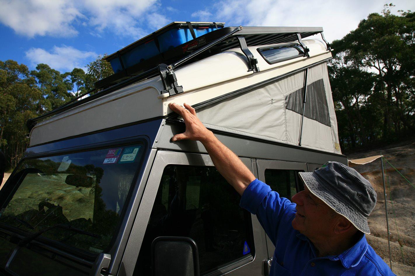 Land Rover Defender custom camper popup.jpg