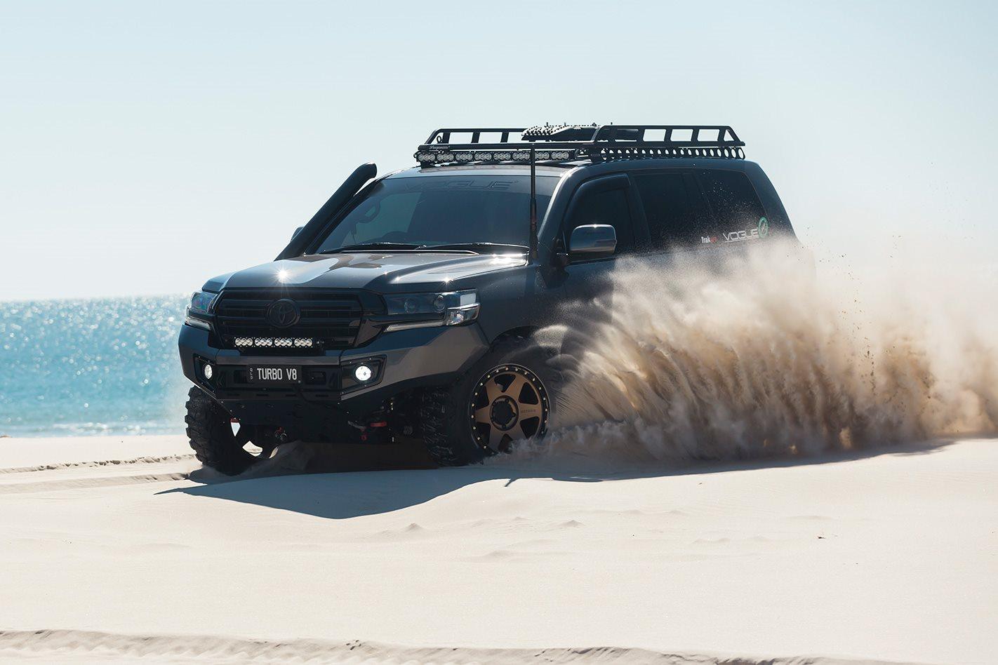 2017 Toyota Rav4 Custom >> Custom Toyota Land Cruiser 200 Series review
