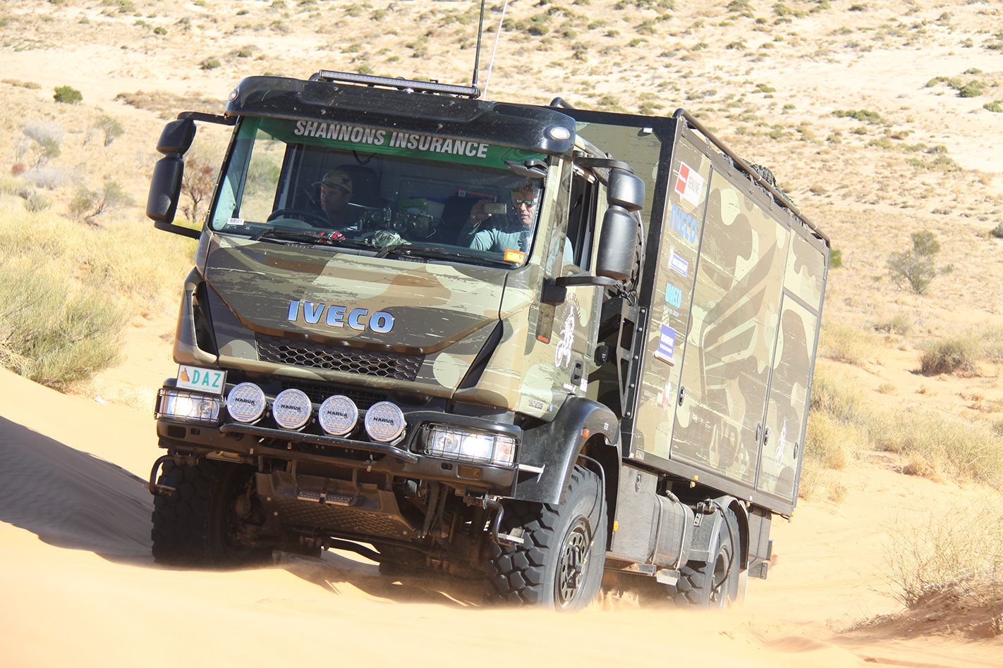 IVECO Daily 4x4 truck front