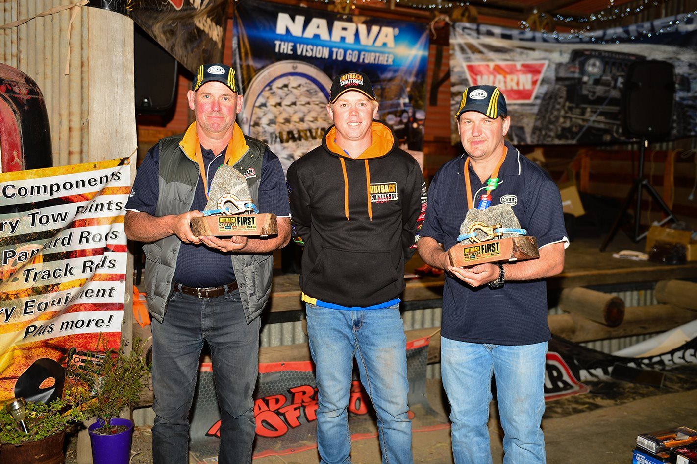2017 Outback Challenge winners\