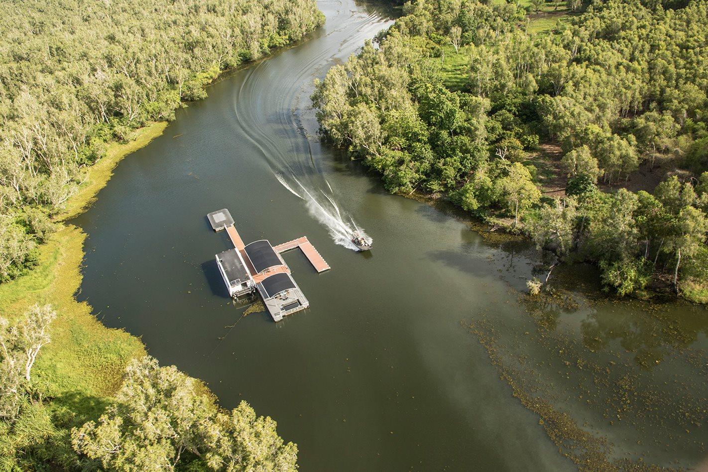 outback wrangler pontoon