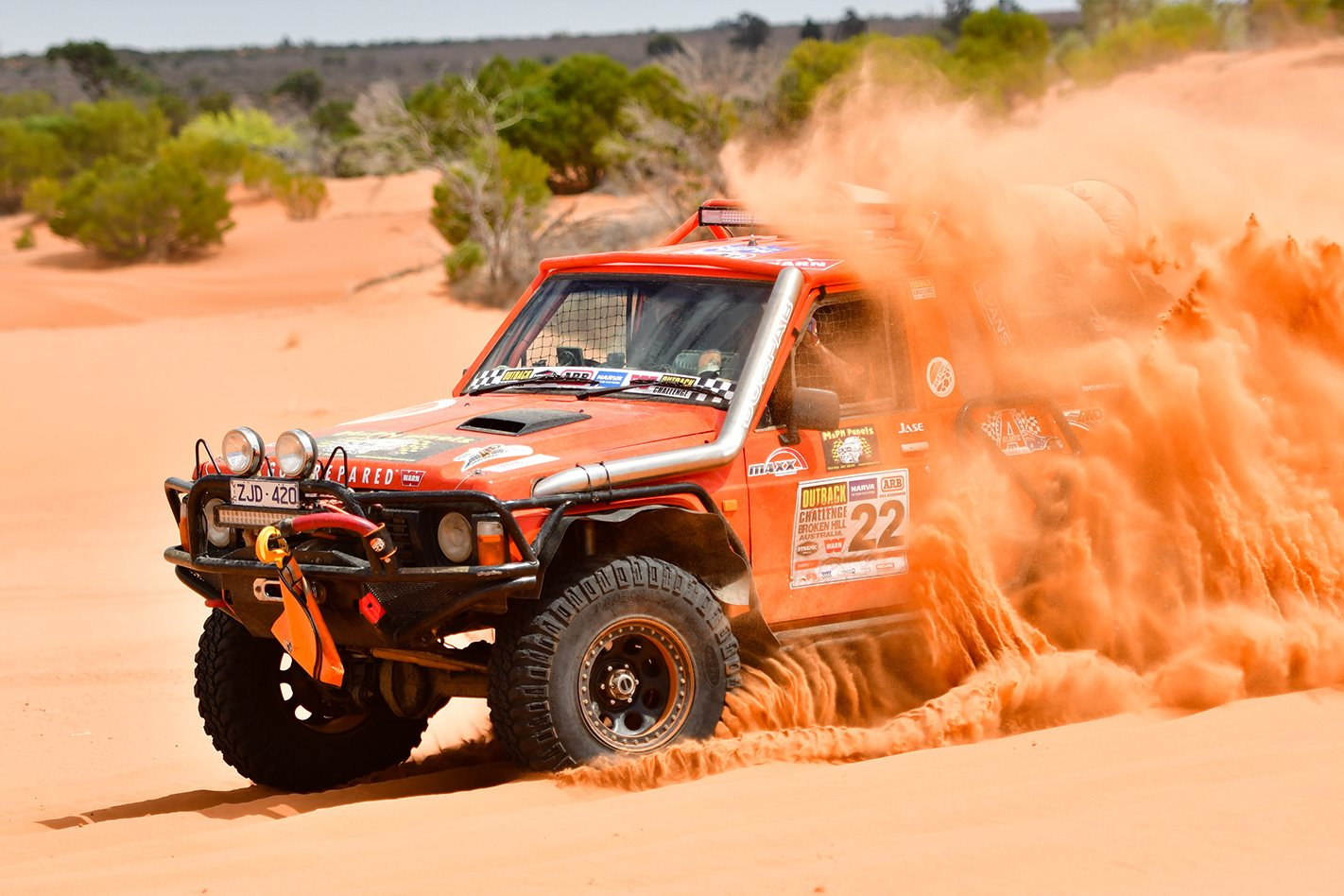 red dirt 2017 Outback Challenge