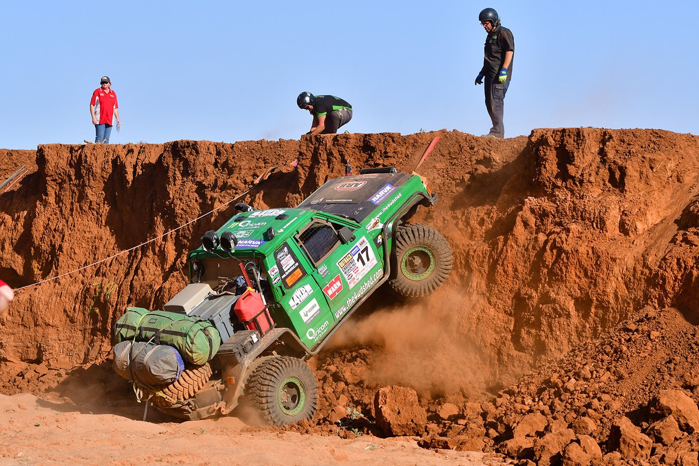 red earth 2017 Outback Challenge