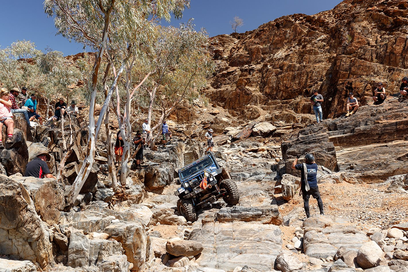 rocky terrain 2017 Outback Challenge