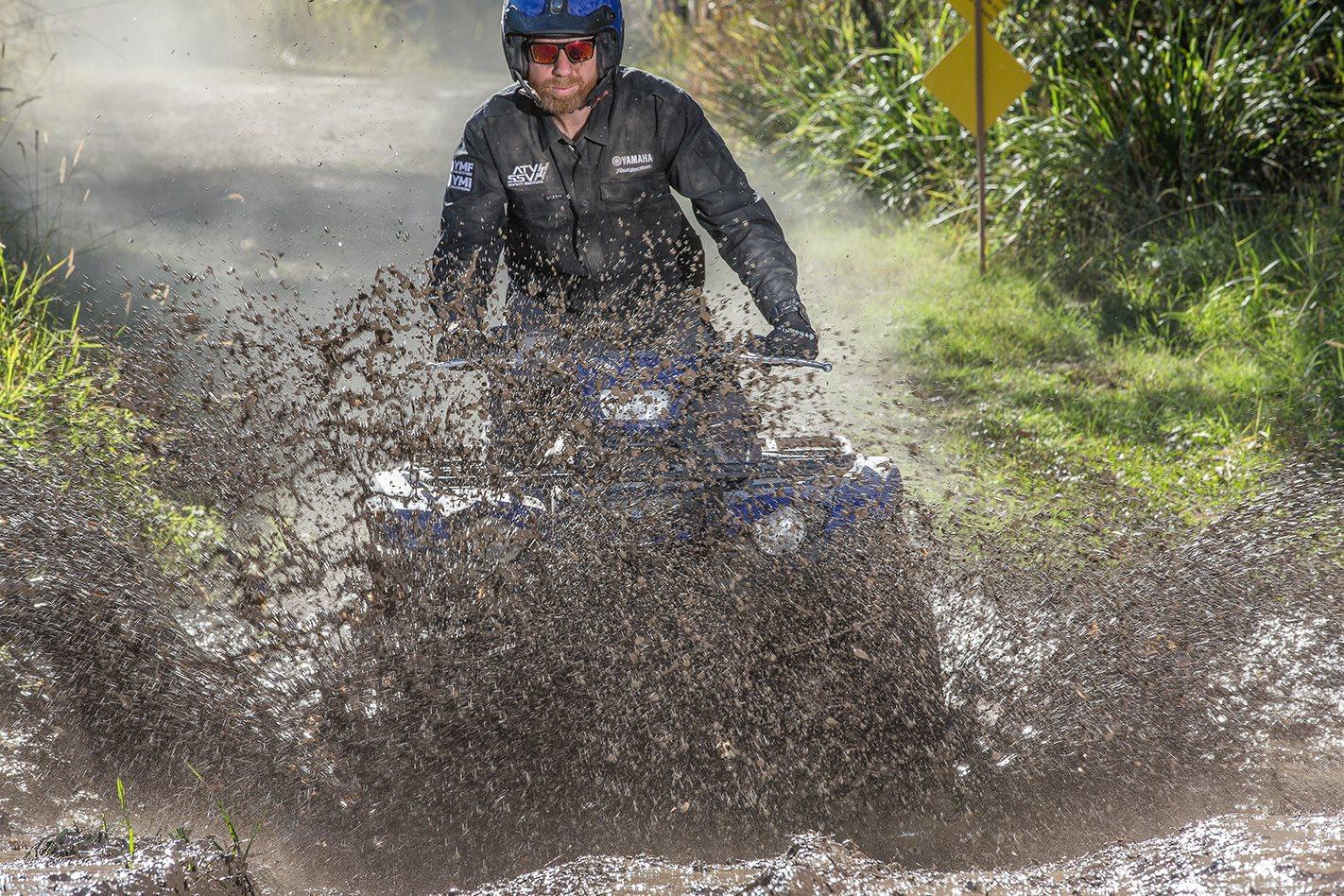 Yamaha Kodiak 450 ATV Quad mud