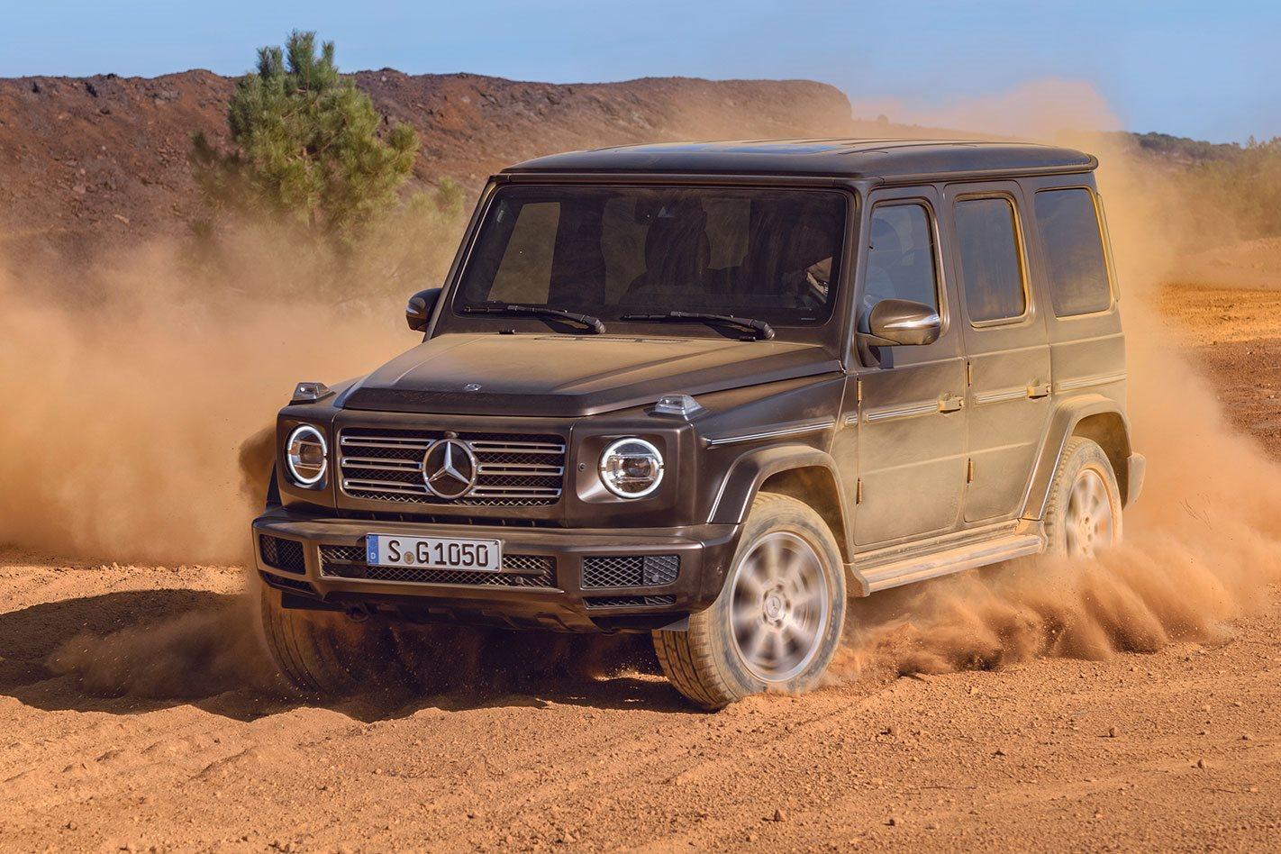 2018 Mercedes-Benz G-Wagen revealed