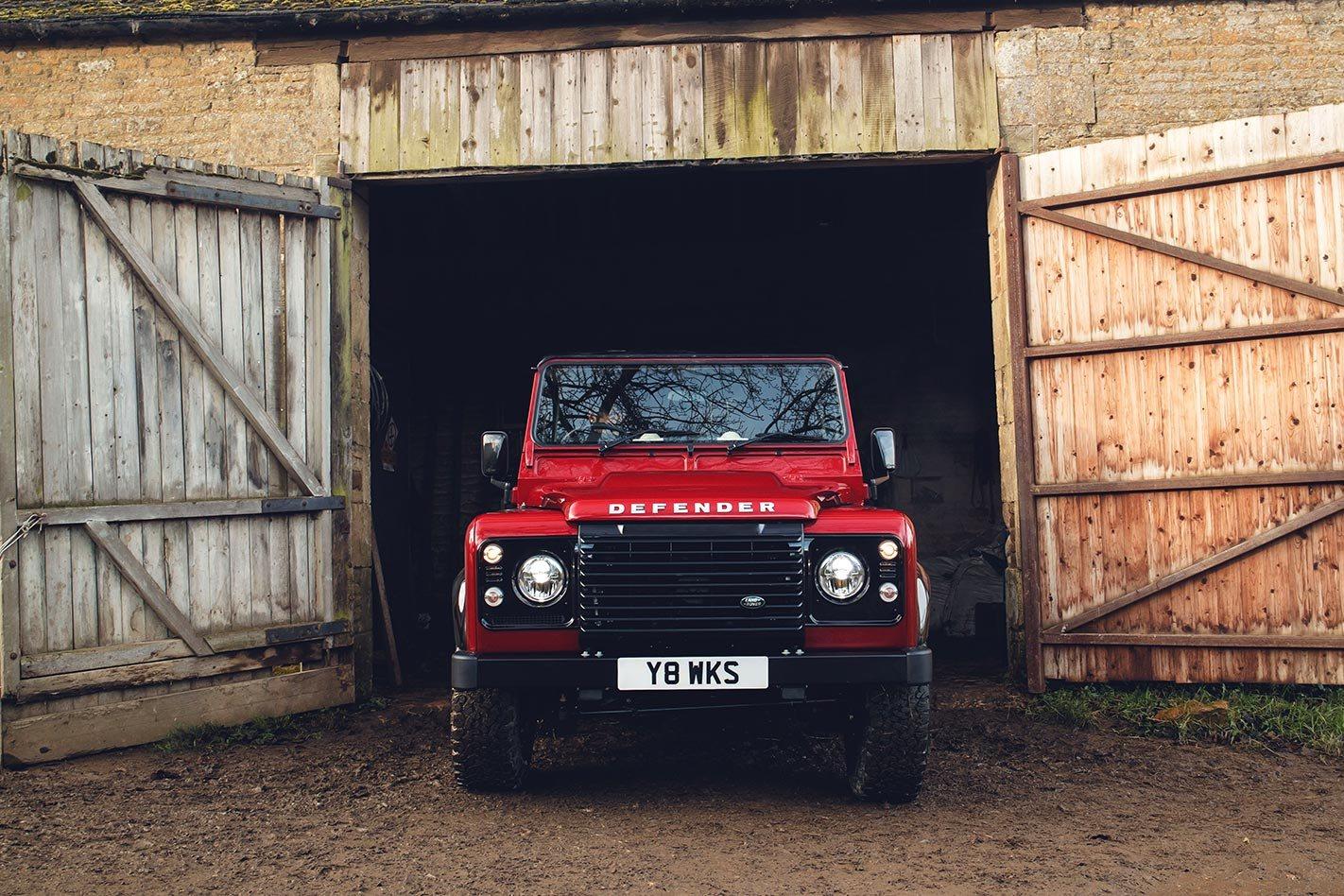 Land Rover Defender Works V8 Launched Challenge