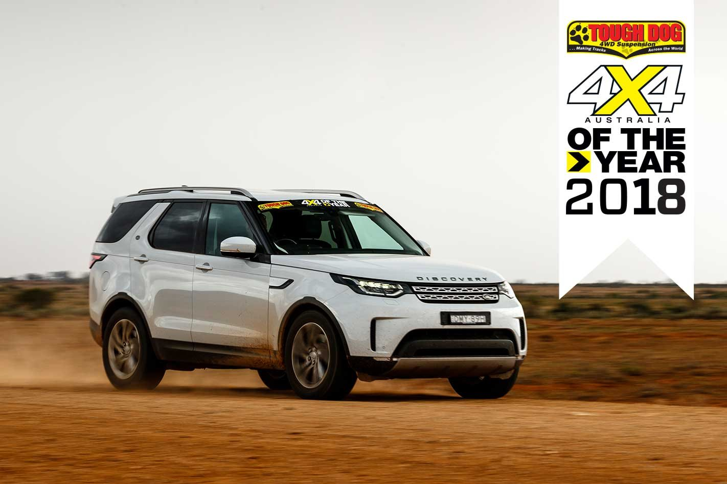 4x4 Of The Year 2018 1 Land Rover Discovery Sd4 If Theres A Lot Luxury About Bit Sportiness Too Especially For Something So Big That Thank Its Trim Weight