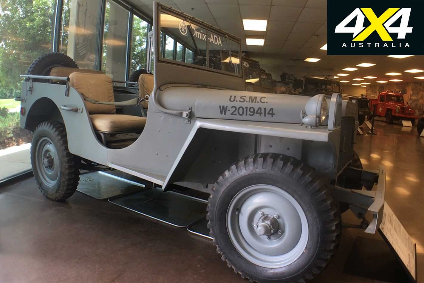 Jeep Heritage Museum Usa 1941 To 1952 Willys Number Built