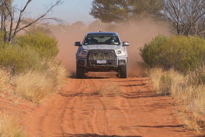 2019 Ford Ranger Raptor Drive
