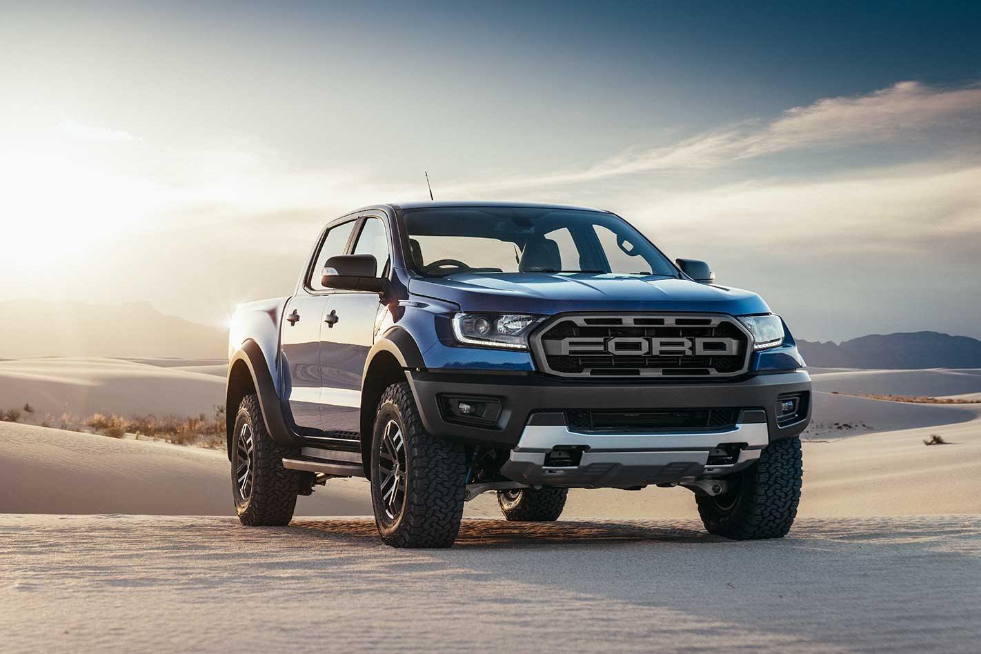 2019 Ford Ranger Raptor ute