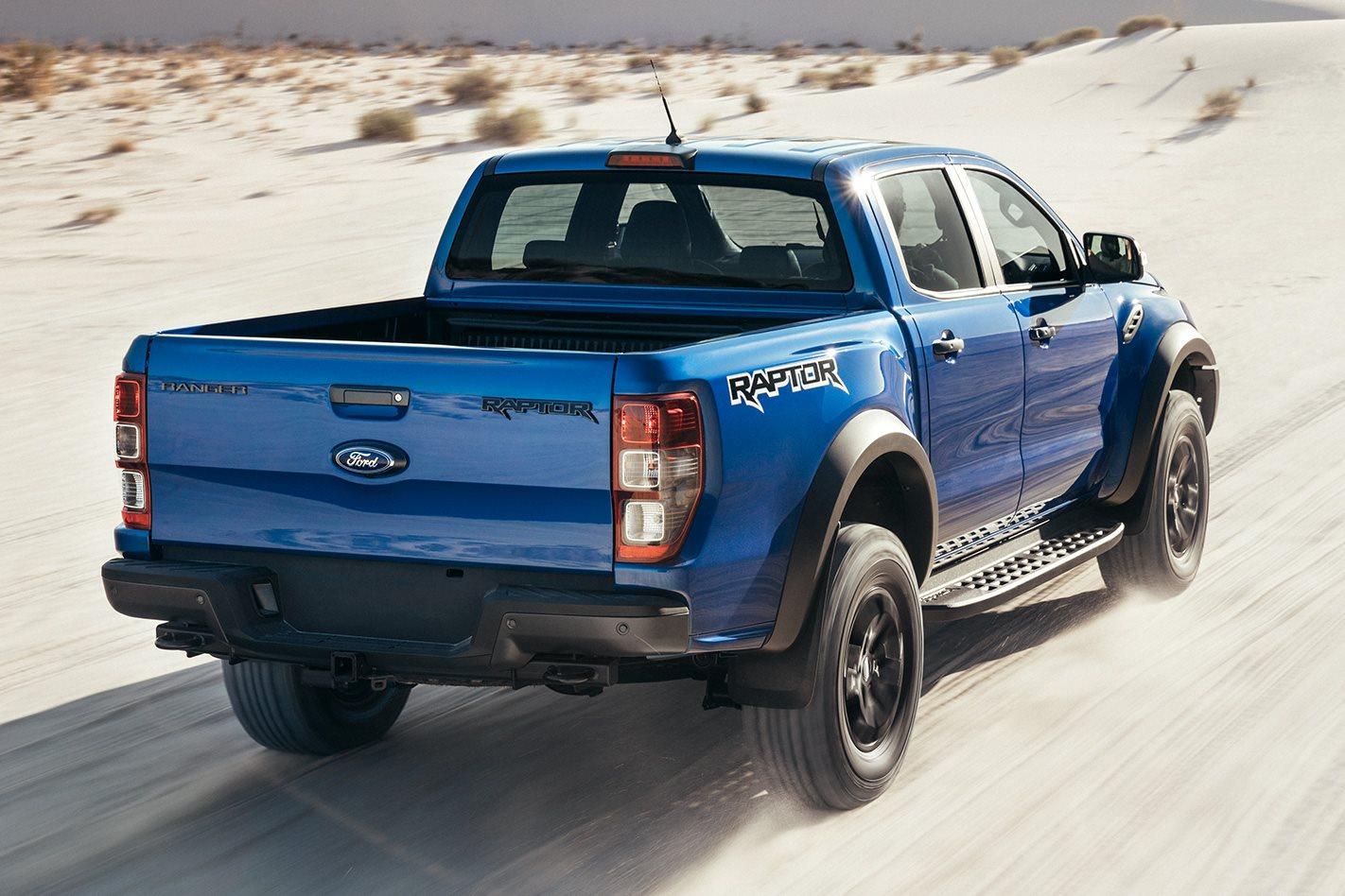 2019 Ford Ranger Raptor  rear