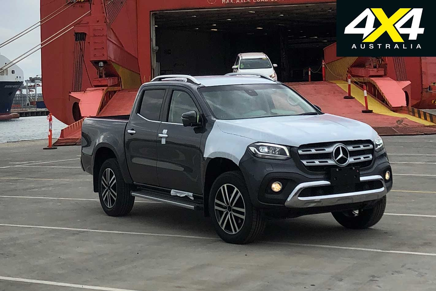 2018 Mercedes Benz X Class Ute Snapped In Melbourne