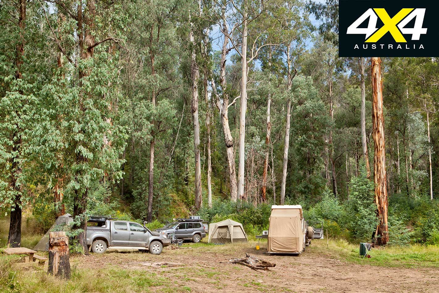 4x4 road trip through the Haunted Stream Track, VIC