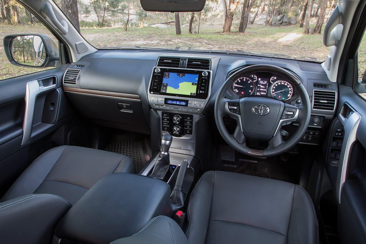 Toyota Prado GXL interior