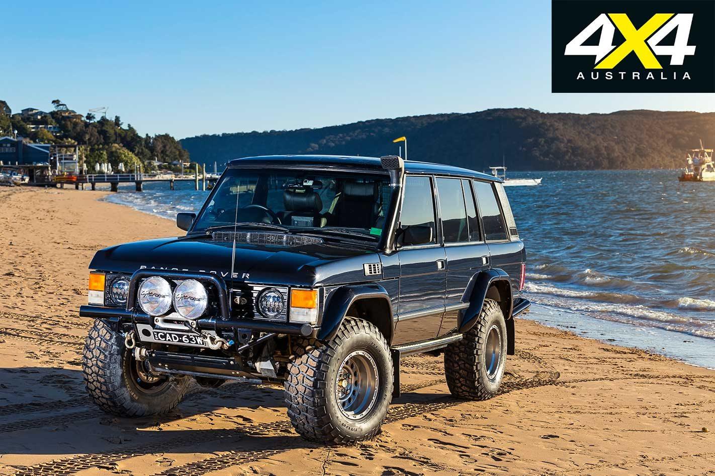 Custom LSA-powered 1993 Range Rover