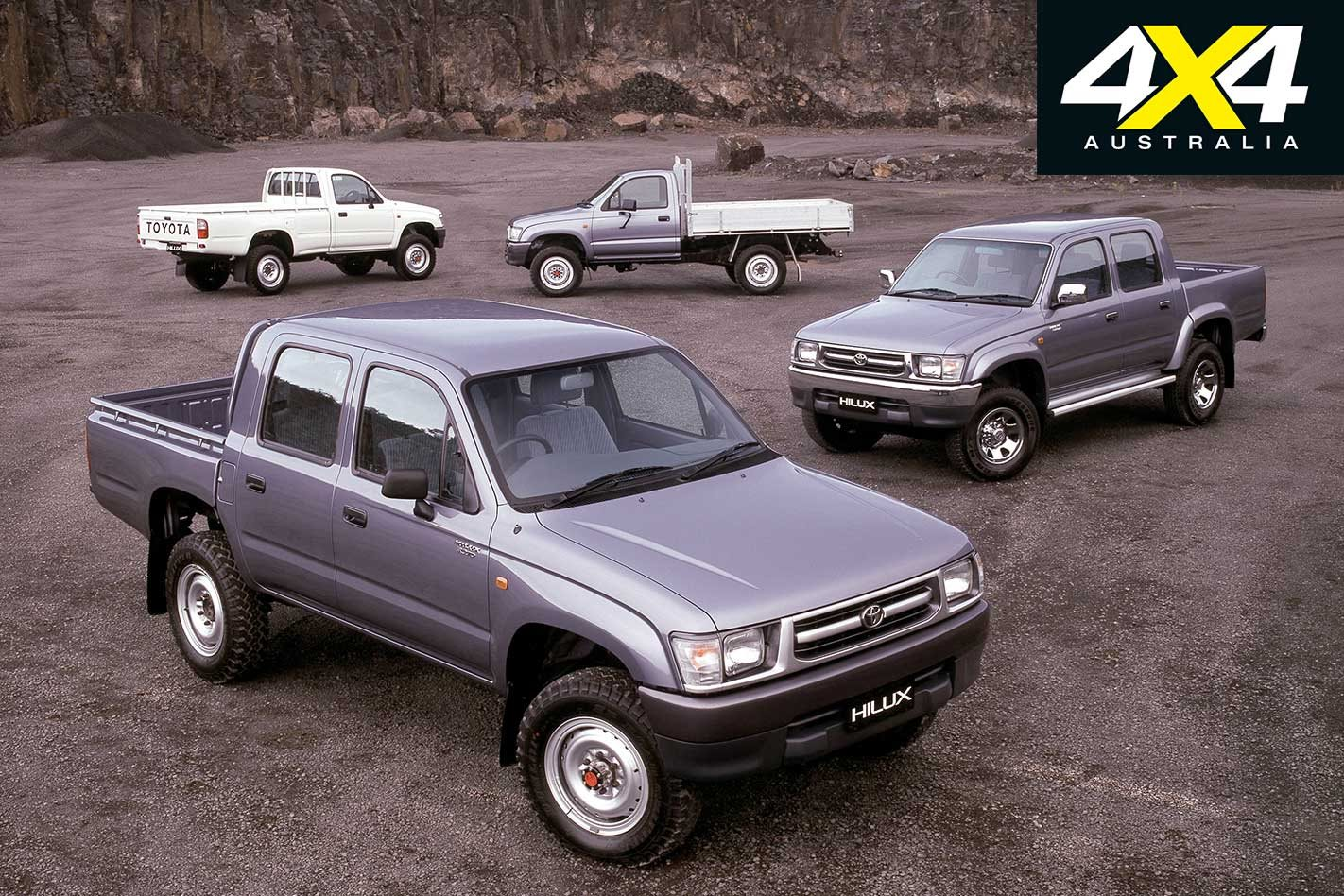 4x4 History: 50 Years of the Toyota Hilux