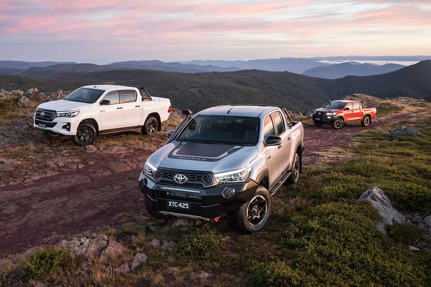 2018 Toyota Hilux Rogue Rugged And Rugged X Launched