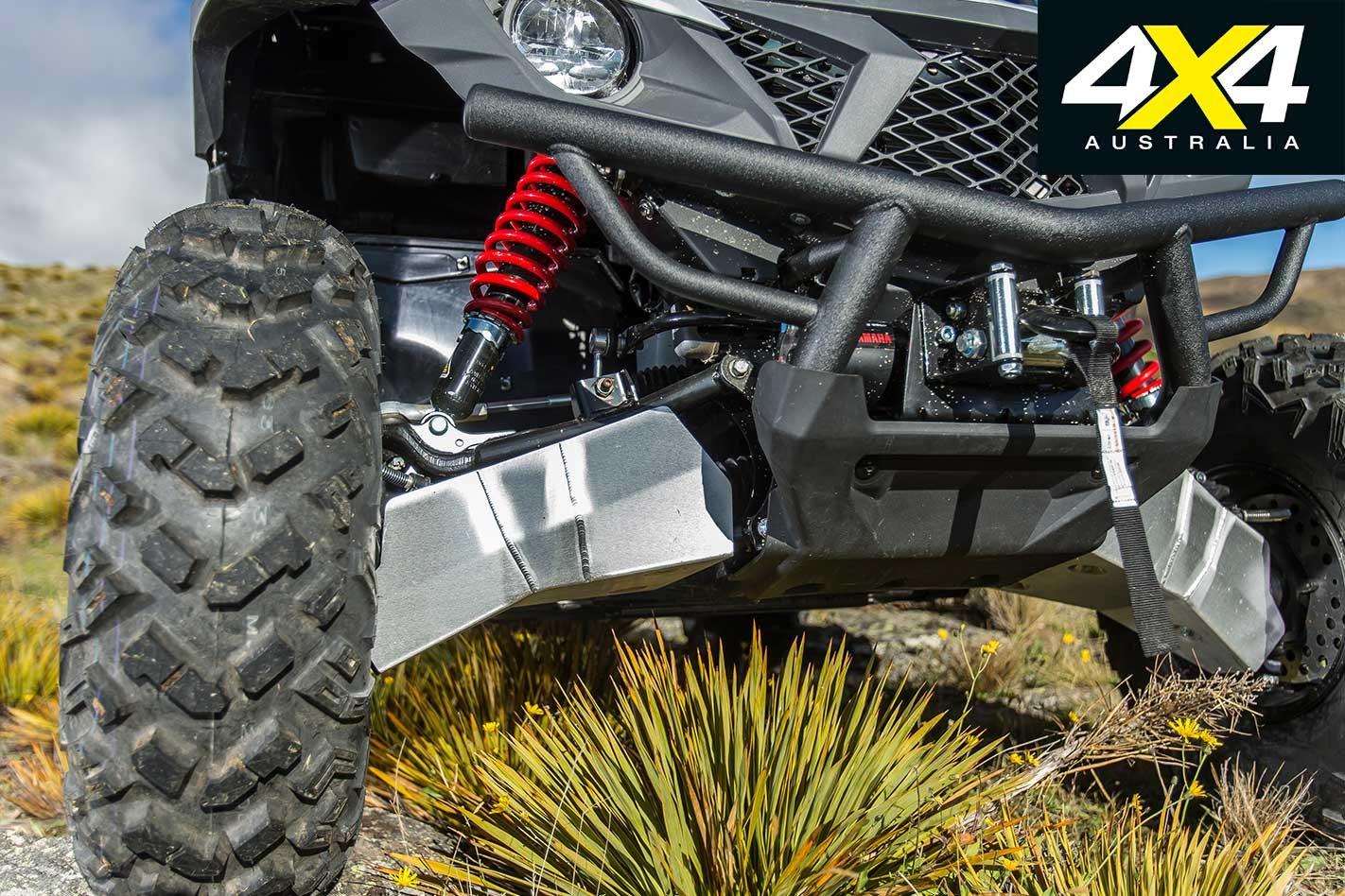 Yamaha Wolverine X4 UTV product test