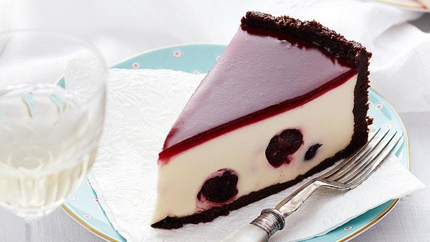 "Rich and creamy, this [black forest cheesecake](https://www.womensweeklyfood.com.au/recipes/black-forest-cheesecake-11727|target=""_blank"") is stuffed with juicy cherries and comes with a beautiful chocolate crust. Sinful indulgence at its best."