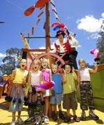 Kids at Dreamworld